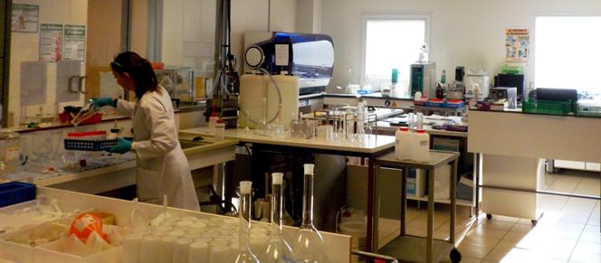Laboratoire LAEPS : analyses environnementales
